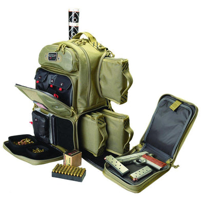 Tactical Range Tall Backpack - Tan