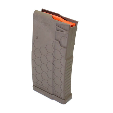 Ar-10-.308 Magazine - 10 Round - Polyhex2 - Flat Dark Earth