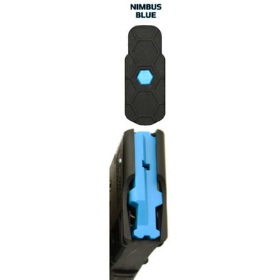 Hexid Ar-15 Magazine Follower - Nimbus Blue - 4 Pack - Hexmag Shooting | EM Self Defense and Security - factory replacement magazines, pistol high capacity magazines, high quality rifle magazines