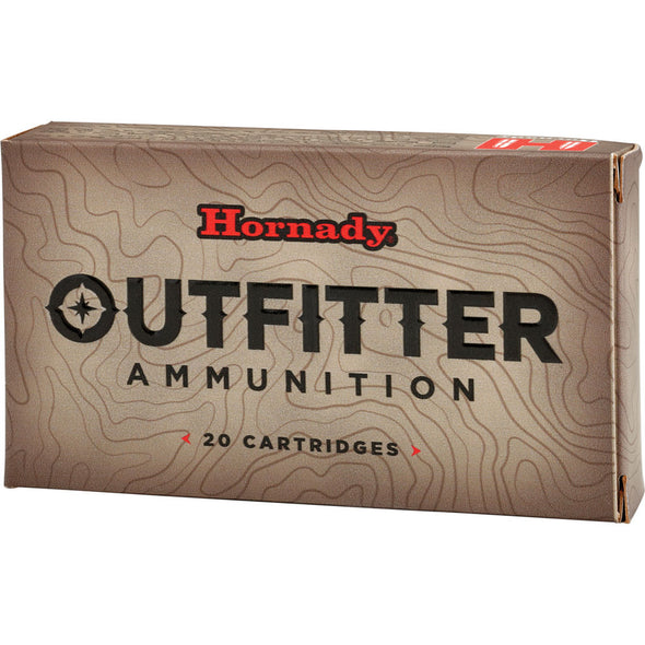 Outfitter Ammunition - 257 Wby Mag - 90gr, Gmx, 20-box