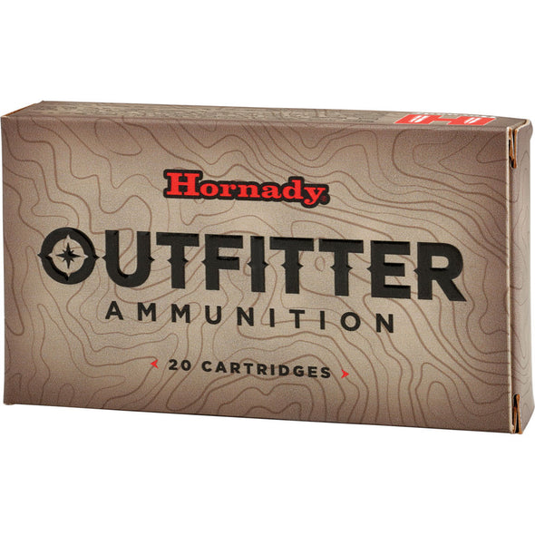 Hornady 338 Win Mag 225 Gr Gmx Outfitter - 20-box
