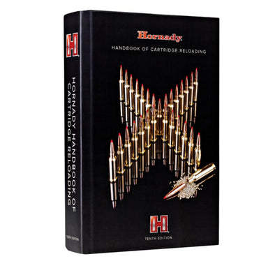 10th Edition Handbook Of Cartridge Reloading - Hornady Outdoor | EM Self Defense and Security - best self defense tools for women, aftermarket gun parts, home security system tools