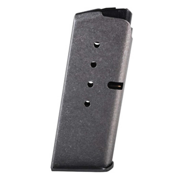 Kahr Ks520 Factory Magazine With Metal Baseplate - 40 S&w, 5 Rounds, Stainless Steel - Kahr Shooting | EM Self Defense and Security - factory replacement magazines, pistol high capacity magazines, high quality rifle magazines