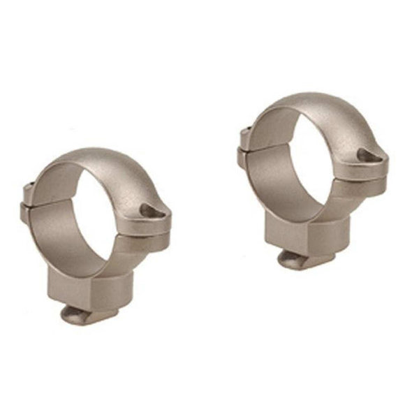 "Dual Dovetail Rings - Silver, Medium, 1"" - Leupold & Stevens Optics 