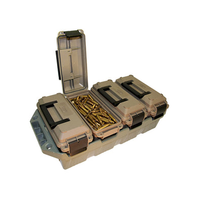 4-can Ammo Crate 30 Cal - Dark Earth