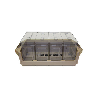 Metal Ammo Can Tray - 30 Cal. - Dark Earth