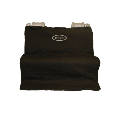 Two Barrel Double Seat Cover - Black