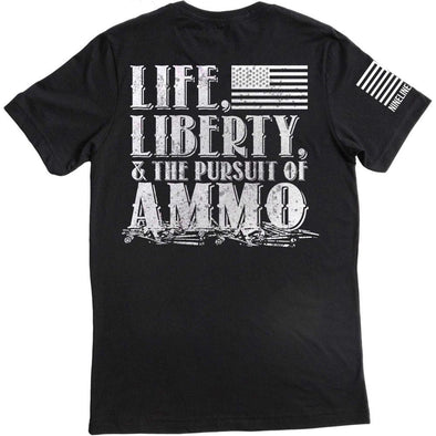 Men's Pursuit Of Ammo T-shirt - Black - Small