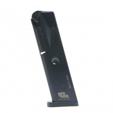 Beretta M92f Magazine - 9mm - 10 Round - Steel - Blue - Pro-Mag Shooting | EM Self Defense and Security - factory replacement magazines, pistol high capacity magazines, high quality rifle magazines