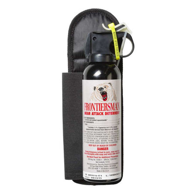 Frontiersman Bear Spray 7.9 Oz With Chest Holster