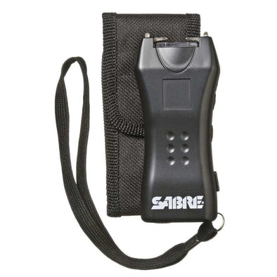 Mini Stun Gun 600k With Holster - Black