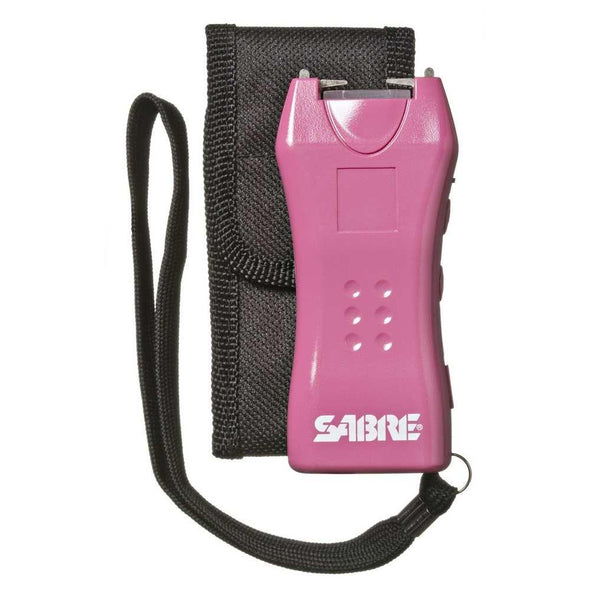 Mini Stun Gun 600k With Holster - Pink