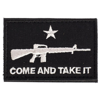 Come And Take It Flag Ar Patch - SHOOTING MADE EASY Miscellaneous | EM Self Defense and Security - best self defense tools for women, aftermarket gun parts, home security system tools