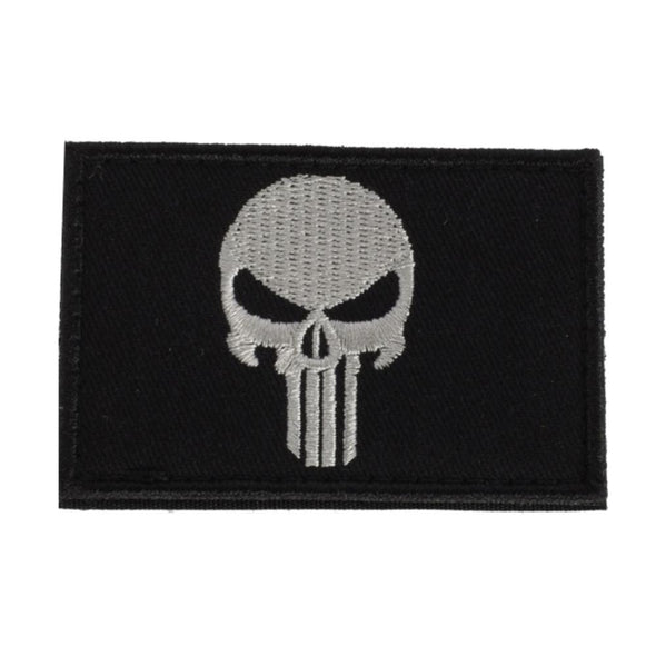 Punisher Black Patch
