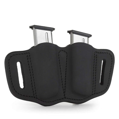 Two Single Stack Magazine Carrier - Stealth Black