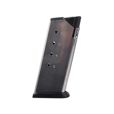 Springfield Xds Factory Magazine - 45 Acp, 5 Rounds, Stainless - Springfield Shooting | EM Self Defense and Security - factory replacement magazines, pistol high capacity magazines, high quality rifle magazines