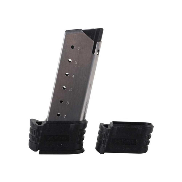Springfield Xd-s Factory Magazine - 45 Acp, 7 Rounds, With Sleeves, Stainless - Springfield Shooting | EM Self Defense and Security - factory replacement magazines, pistol high capacity magazines, high quality rifle magazines