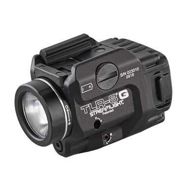 Tlr-8 G Low-profile, Rail-mounted Tactical Light With Green Laser