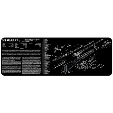 "M1 Garand Cleaning Mat - 12"" X 36"""