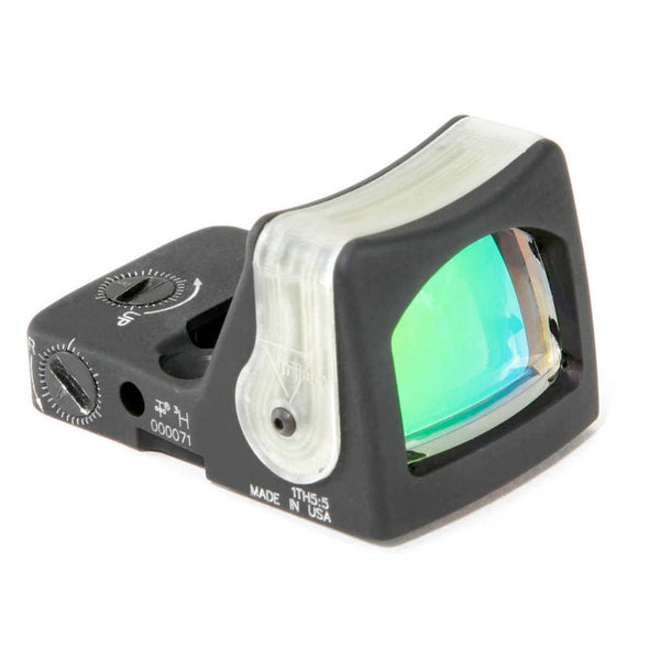 Rmr Dual Illuminated Sight - 9.0 Moa Amber Dot - Trijicon Optics | EM Self Defense and Security - quality shooting optics, affordable marksman rangefinder, inexpensive rifle scopes
