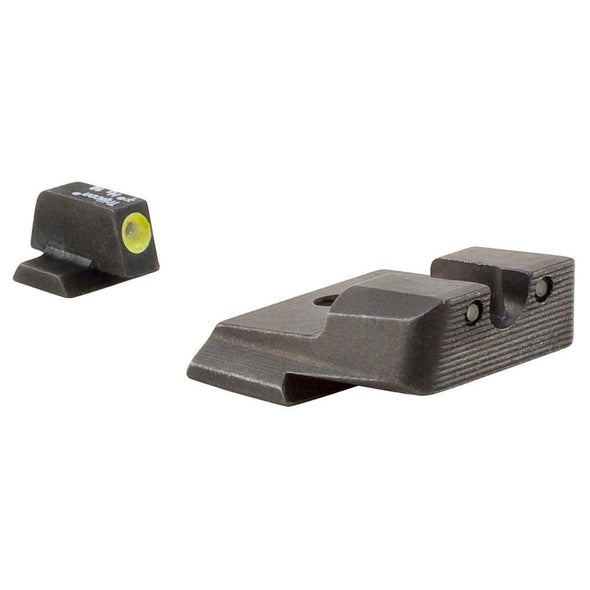 S&w M&p Hd Night Sight Set - Yellow Front Outline