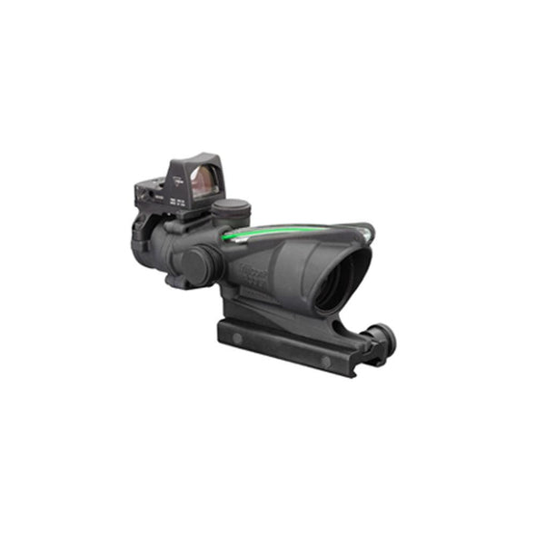 Trijicon Acog_ 4x32 Scope, Dual Illuminated Green Crosshair .223 Ballistic Reticle, 3.25 Moa Rmr Type 2 Sight - Trijicon Optics | EM Self Defense and Security - quality shooting optics, affordable marksman rangefinder, inexpensive rifle scopes