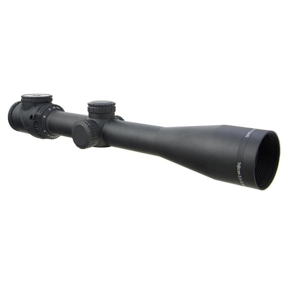 Accupoint 2.5-12.5x42 Riflescope W- Bac, Green Triangle Post Reticle, 30mm Tube - Trijicon Optics | EM Self Defense and Security - quality shooting optics, affordable marksman rangefinder, inexpensive rifle scopes