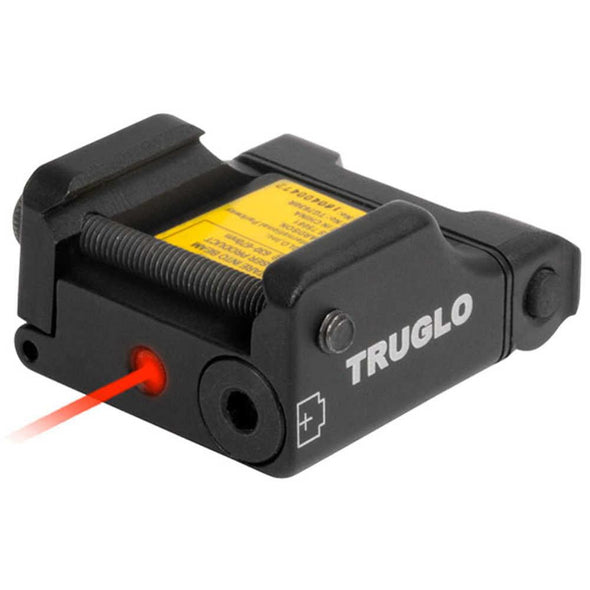 Microtac Tactical Micro Laser - Red - TruGlo Optics | EM Self Defense and Security - quality shooting optics, affordable marksman rangefinder, inexpensive rifle scopes