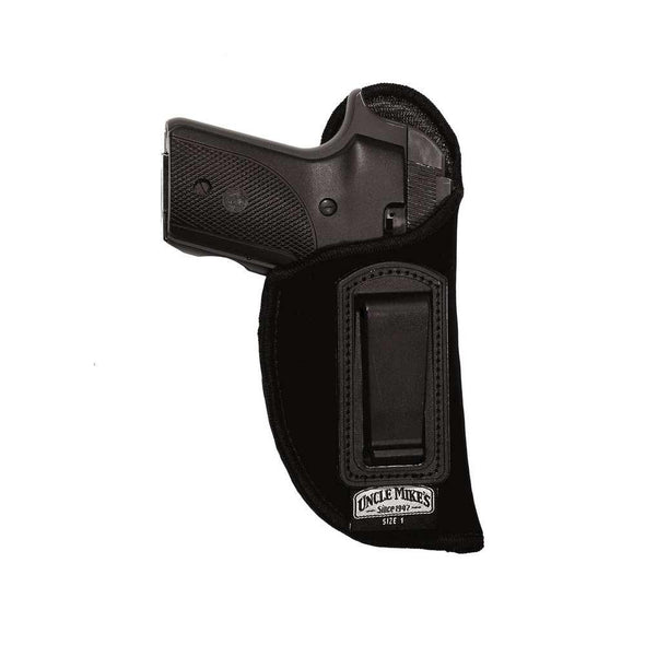 Inside-the-pant Holster - Black - Right - Size 1 - Uncle Mike's Shooting | EM Self Defense and Security - high quality concealed carry holsters, ankle gun holsters concealed, gun holder for car
