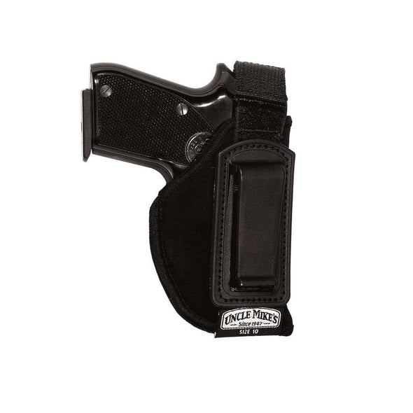 Inside-the-pant Holster - Black - Right - Size 15 - Uncle Mike's Shooting | EM Self Defense and Security - high quality concealed carry holsters, ankle gun holsters concealed, gun holder for car