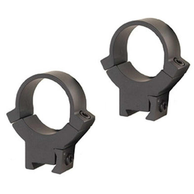 "All Steel .22 Rimfire Rings - Matte, High, 1"" - Warne Scope Mounts Optics 
