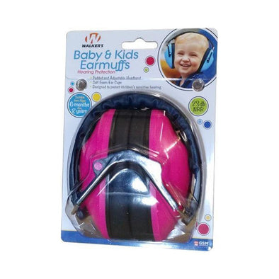 Baby & Kids Hearing Protection Earmuffs - Pink
