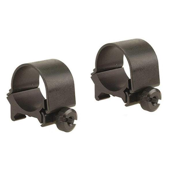 "Detachable Top Mount Rings - Matte, Low, 1"" - Weaver Optics 