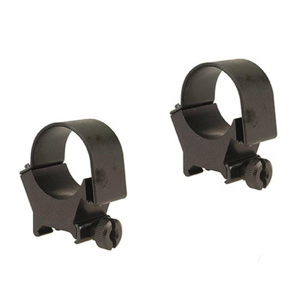 Detachable Top Mount Rings - Matte, High, 30mm - Weaver Optics | EM Self Defense and Security - quality shooting optics, affordable marksman rangefinder, inexpensive rifle scopes