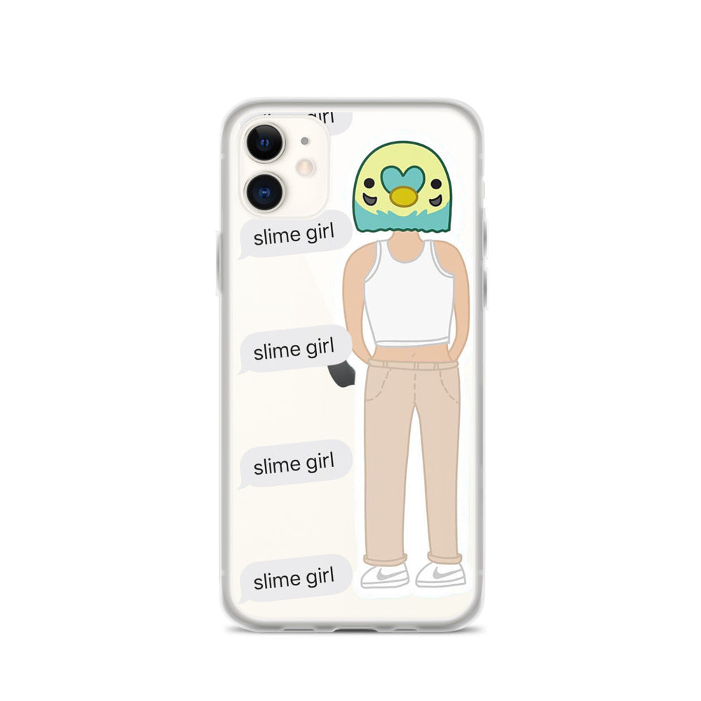 Slime Girl iPhone Case