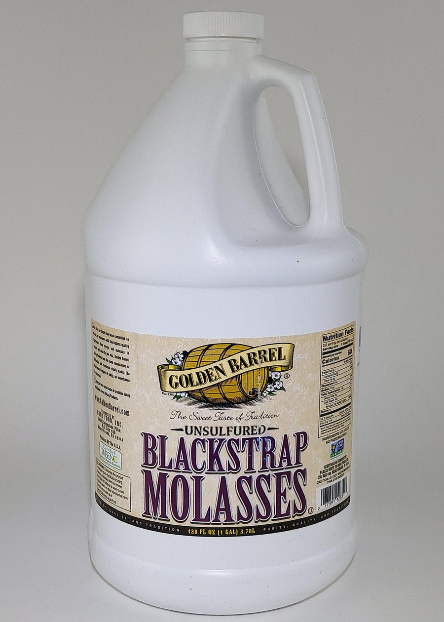 Unsulfured Blackstrap Molasses - 1 Gallon