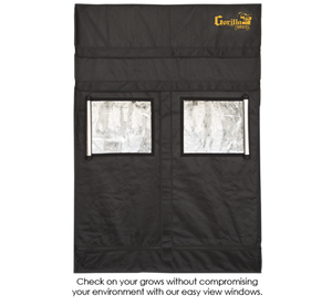 "Gorilla Grow Tents Shorty 2' x 4' Heavy Duty Indoor Grow Room - 24"" x 48"""