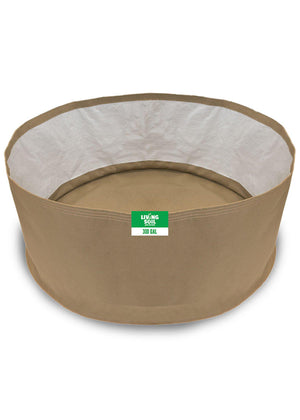 300 Gallon Fabric Living Soil Pots - GrassRoots