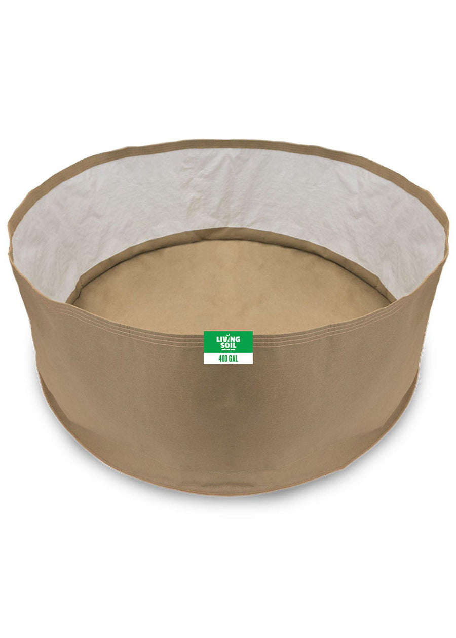 400 Gallon Fabric Living Soil Pots - GrassRoots