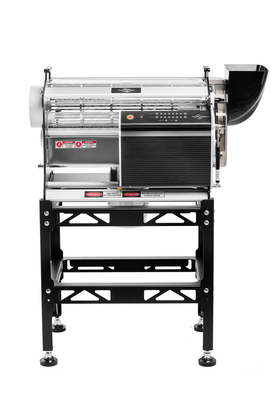 Twister T4 Triple Trimming System With Leaf Collector - Trim Machine