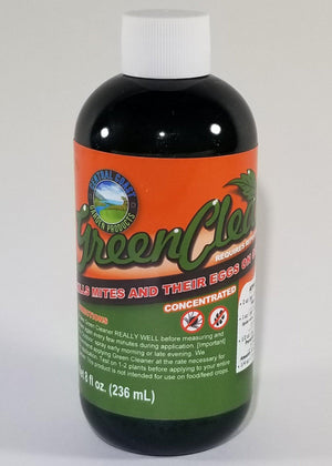 Green Cleaner Organic  Miticide & Insecticide 8 oz.
