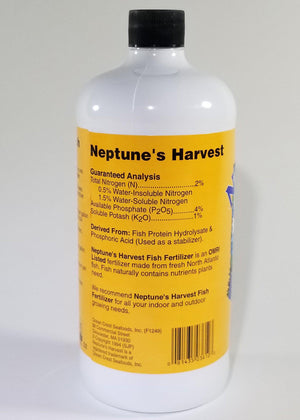 Neptune's Harvest Hydrolyzed Fish Fertilizer Quart