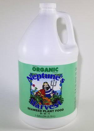 Neptune's Harvest Seaweed Fertilizer Gallon