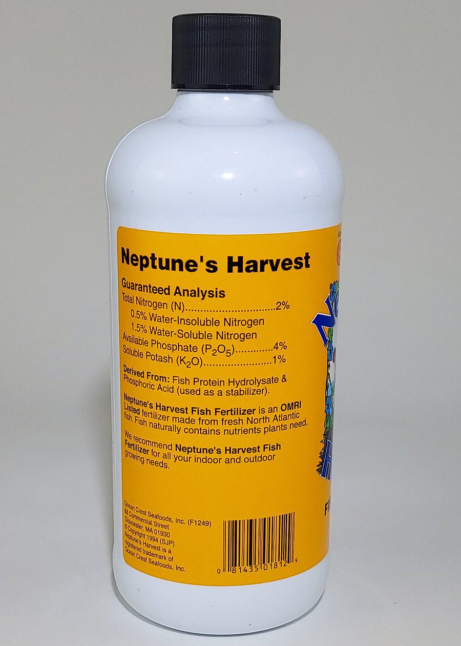 Neptune's Harvest Hydrolyzed Fish Fertilizer Pint
