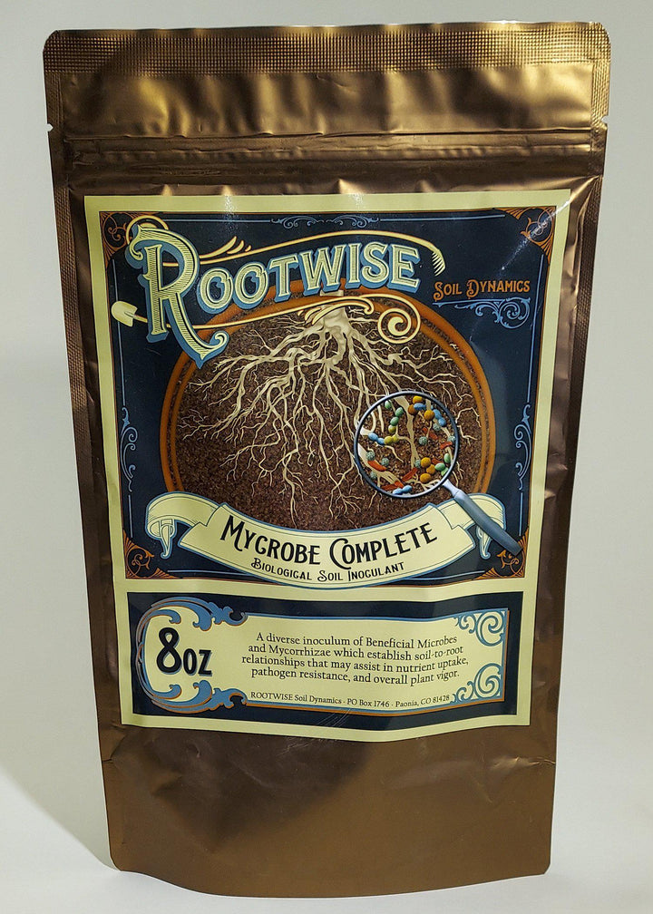 Rootwise Mycrobe Complete - Biological Inoculant 8oz