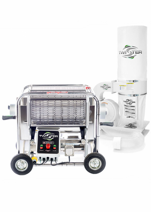 Twister T2 Trimming System With Leaf Collector - Wet or Dry Trim Machine