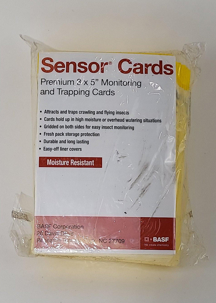 "Yellow Sticky Trap Sensor Cards - 3"" x 5"""