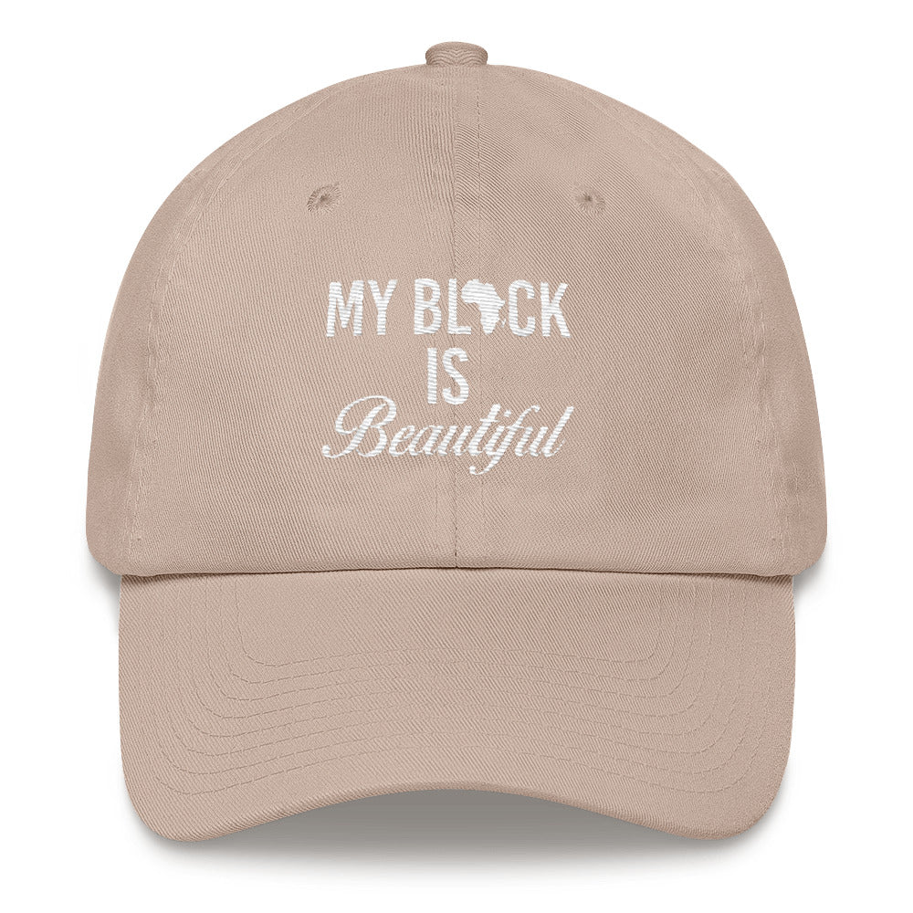 """My Black Is Beautiful"" Dad Hat"