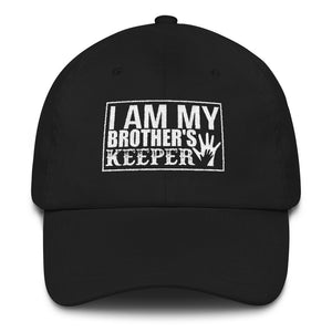 """I Am My Brother's Keeper"" Dad Hat"