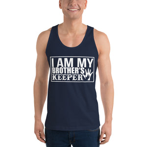 """I Am My Brother's Keeper"" Classic tank top (unisex)"